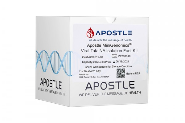 Apostle MiniGenomics Viral Total NA Isolation Kit (384 preps)