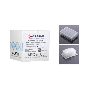 Apostle MiniGenomics Viral Total NA Isolation Kit (6144 preps), with Plates & Tip Comb Included