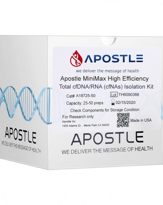 Apostle MiniMax High Efficiency cfDNA/RNA (cfNAs) Isolation Kit (1mL x 50 preps)