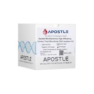 Apostle MiniGenomics High Efficiency Urinary Tract Microbiota DNA Isolation Kit (400uL x 50 preps)